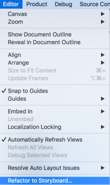 refactor-into-storyboard